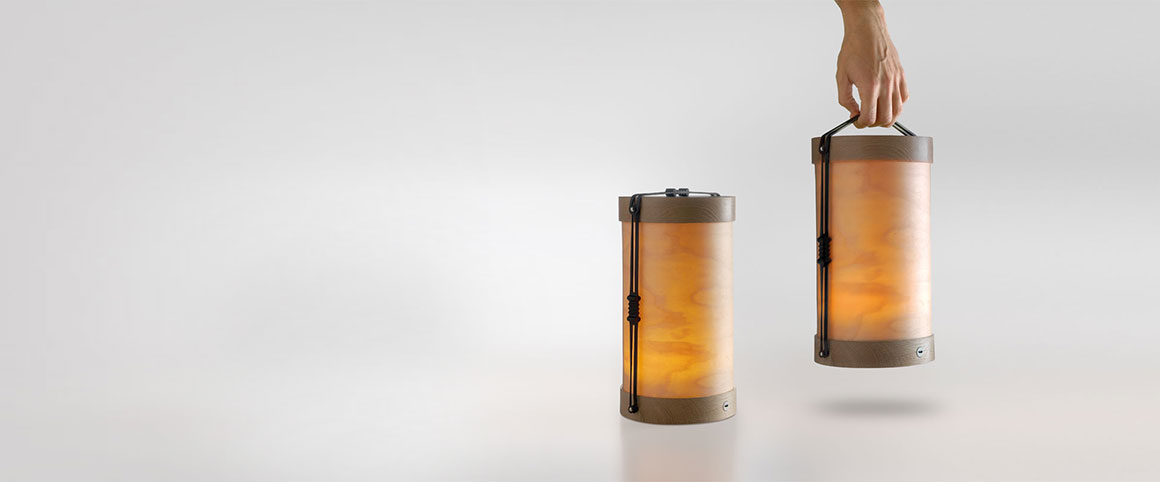 Nueva lámpara portátil Luciole de MASSMI